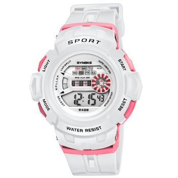 SYNOKE Children Watches Fashion Waterproof LED Sport Digital Watch Cute Kids Wristwatches Boys Girls Gift  Watches for Children