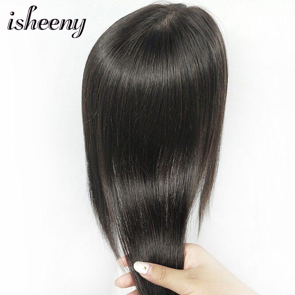 Human Hair Topper Wig 10