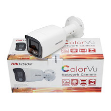 Hikvision IP Camera ColorVu 4MP DS-2CD2047G1-L network Bullet Network Full Color POE H.265+ IP67 CCTV Camera