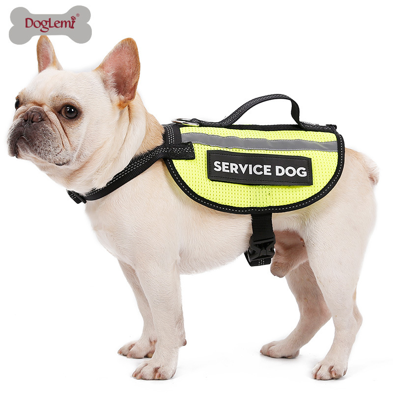 Pet Waistcoat Reflective Safety Clothing Working Dog Chest And Back Clothes German Shepherd Golden Retriever Big Dog Dog Trainin
