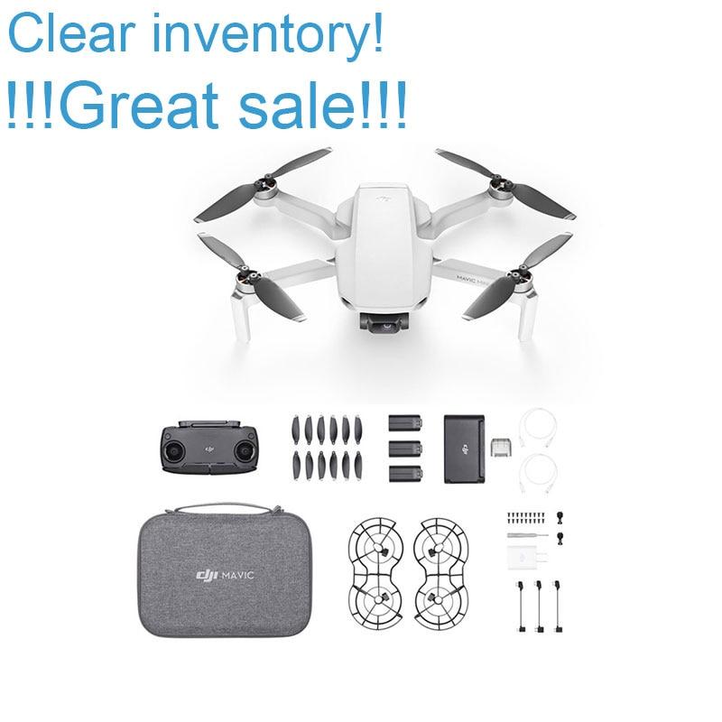 Mavic Mini Fly more combo Original In Stock DJI Mavic Mini in Camera drone with 2.7k camera flight time 30 minutes weight 249g on AliExpress
