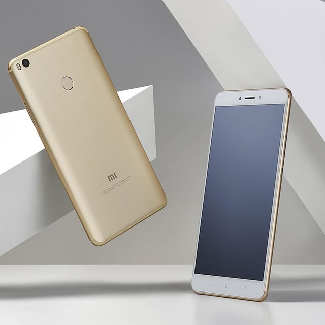 Xiaomi Mi Max 2  4G RAM 64GB 6.44inch  4G LTE 5300mAH Rear-mounted Fingerprint Android Cellphone Unlocked refurbished 2
