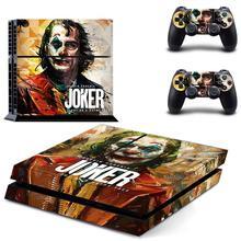 DC Film Joker PS4 çıkartmalar PlayStation 4 cilt Sticker oyun çıkartmaları PlayStation 4 için PS4 konsolu ve denetleyici skins vinil
