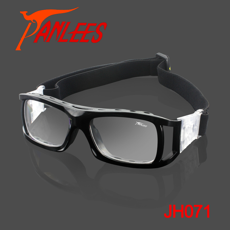 Hot Sales 2019 New Model High Impact Foldable Panlees Sports Goggles Prescription Sport Glasses For Soccer Basketball