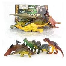 цена Novelty dinosaur toy Tyrannosaurus Rex Dragon Sword Dragon Wing Dragon Simulation Dinosaur Set Model Children's Educational Toys в интернет-магазинах
