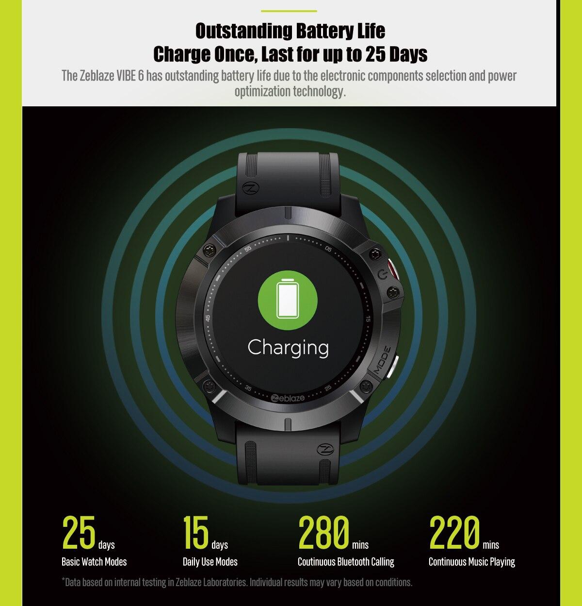 Zeblaze Vibe 6 smartwatch 6