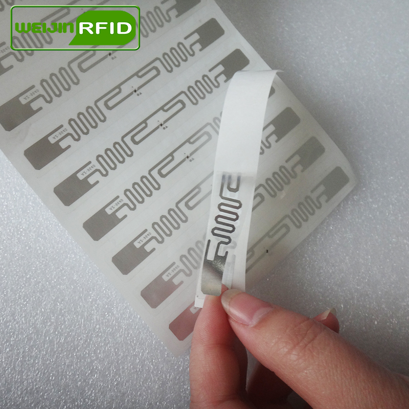 UHF RFID Umbauaufkleber Ausländer 9640 nasse Einlage 915m868 - Schutz und Sicherheit - Foto 2