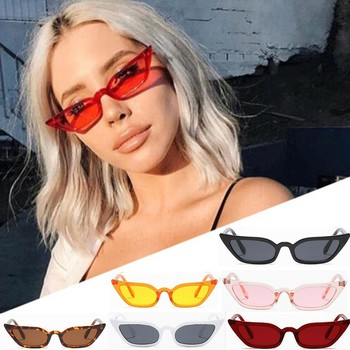 top selling Women Vintage Cat Eye Sunglasses Retro Small Frame UV400 Eyewear Fashion Ladies Support Wholesale and Dropshipping image
