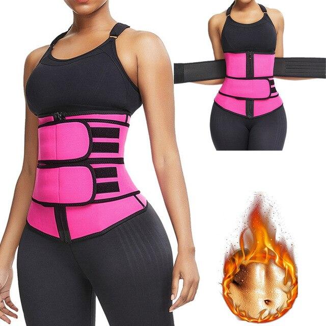 Steel Boned Waist Corset Trainer Sauna Sweat Sport GirdleWomen Weight Loss Lumbar Shaper Workout Trimmer Belt Pregnant woman