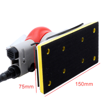 free shipping pneumatic belt sander 10 or 20mm air band sanding machine air sandpaper tool wind polishing grinding machine 20331 Vibration Pneumatic Sanding Machine Base Air Grinding Tool Chassis Wind Sander Accessories 75X150mm 3 Pieces In One