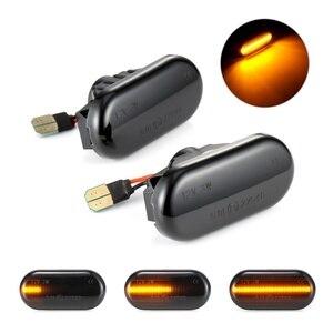 Image 1 - Dynmic автомобильный указатель поворота светодиодный индикатор поворота мигалка сигнальная лампа боковой маркер 26160AX00A для Nissan Qashqai Navara Micra