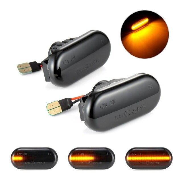 Dynmic автомобильный указатель поворота светодиодный индикатор поворота мигалка сигнальная лампа боковой маркер 26160AX00A для Nissan Qashqai Navara Micra