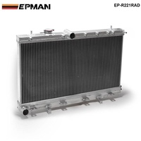 50mm 2 Row Aluminum Radiator For Subaru Impreza Wrx STI GDB GD8 MT 02 07 03 04 05 06 EP R221RAD