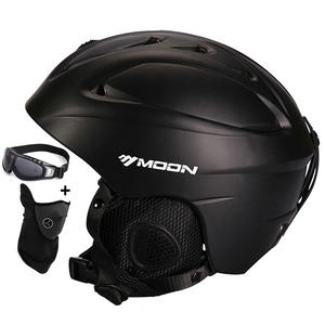 MOON Ski Helmet Safety-Skateboard Kids Skiing for Adult And Snowboard Hot-Sale Integrally-Molded