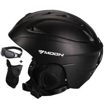 MOND Heißer Verkauf Ski Helm Integral geformten Skifahren Helm Für Erwachsene und Kinder Schnee Helm Sicherheit Skateboard Ski Snowboard helm