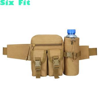 2021 Outdoor Men Waist Bag Tactical Waist Pack Pouch With Water Bottle Holder Waterproof 800d Nylon Belt Bum Bag Waist Bag Men