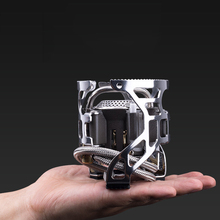Bulin T4A  Stainless Steel Outdoor Foldable Gas Stove Camping Hiking Picnic Stove Split Burn for Outdoor Survival Gas Furnace