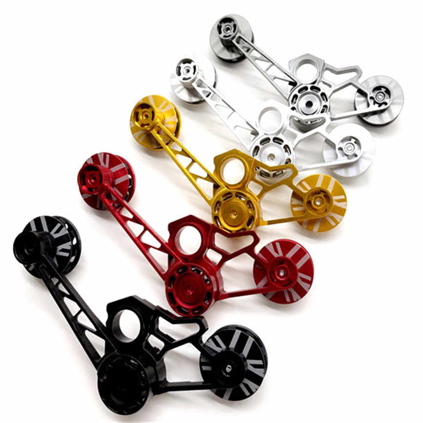 UK FAST Bicycle Chain Tensioner Aluminium Alloy Cycling 2 6 Speeds For Brompton