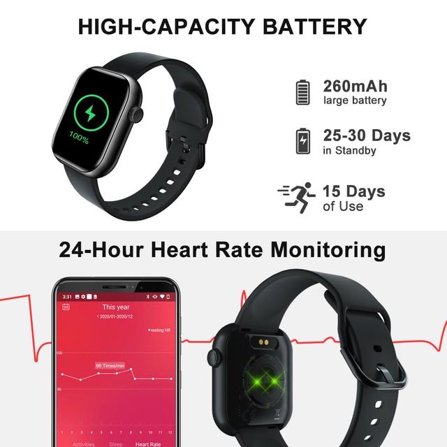 Смарт-часы Cubot C5 Smartwatch