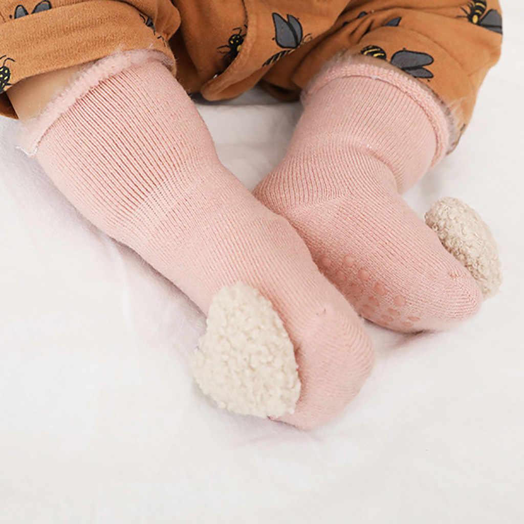 Fashion Casual Pasgeboren Baby Kids Meisjes Jongens Sokken Vloer Silicagel Kinderen Kids Sokken antislip Peuter Schoeisel Effen sokken