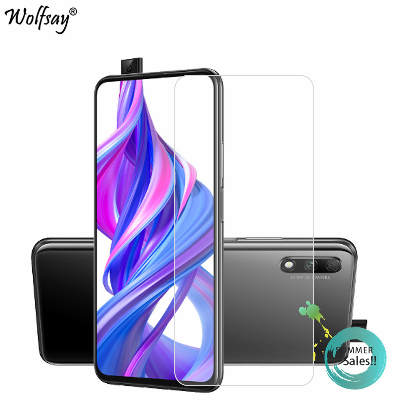 2PCS Glass For Huawei Honor 9X Screen Protector Tempered Glass For Huawei Honor 9X Protective Film For Huawei Honor 9X Glass