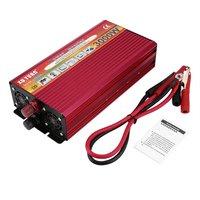 Professional 3000W Power Inverter DC 12V to AC 220V with LED Indicator Light Fan Cooling Universal Socket Car Converter