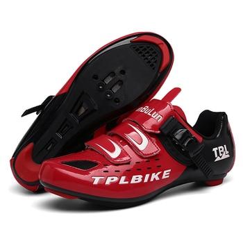 New MTB Sneakers Men Women Cycling Shoes Self-locking Road MTB Bike Sneaker Professional Damping Size 36-46 Sports Shoes 10