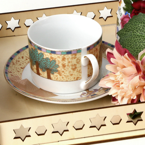 Image 5 - 2020 DIY Wooden Dessert Tray EID MUBARAK Decor for Home Ramadan Decor Pendants Islamic Muslim Party Decor Eid Al Adha