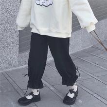 Женские брюки Капри с высокой талией черные белые свободные