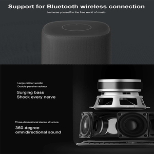 Image 3 - Original Xiaomi Xiaoai HD bluetooth Smart Speaker AI Bass 30W Subwoofer Music Player 360 Degree Surround Stereo Mic Subwoofer