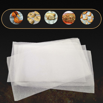 BBQ Greaseproof Paper Non-stick Baking High Quality Thicken Silicone Eco-friendly Kitchen Supplies 10packs/500pcs