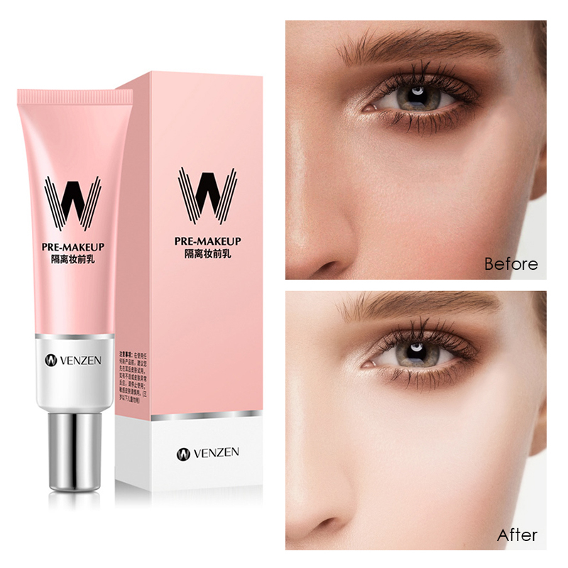 30g Face Makeup Hydrating Pink Isolation Makeup Primer Base Concealer Oil-control Foundation Cream Invisible Pore Cosmetic TSLM1