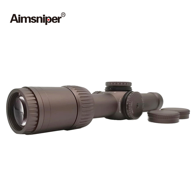 Tactical Vort Optics 1-6x24 Riflescope Razor Hd Gen Hunting Rifle Scope MRAD Reticle Sight With Scope Mount For Airsoft Gun 2