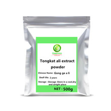 цена на 100-1000g High quality Tongkat Ali Extract Powder festival top supplement For Man Increase Sexual Desire Stamina free shipping.