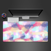 Advanced Colorful 3D Mouse Pad Coolest Notebook Computer Natural Rubber Speed Lock Pad Most Popular Office Keyboard Mats