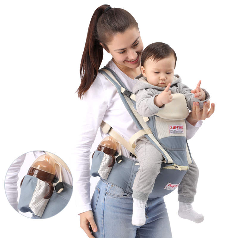 Front Facing Ergonomics Baby Carrier Backpack Wrap Carrier Waist Hip Seat Carriers Kangaroo Carrying For Small Bebe Baby Sling