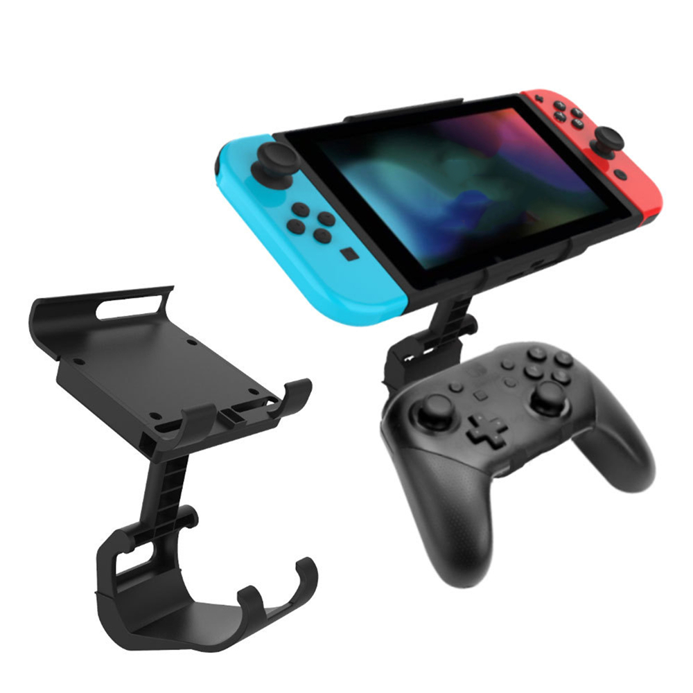 Adjustable Multi-angle Mount Stand Holder For NS Pro Game Controller Cradle Bracket For Nintend Switch /Lite Gaming Console