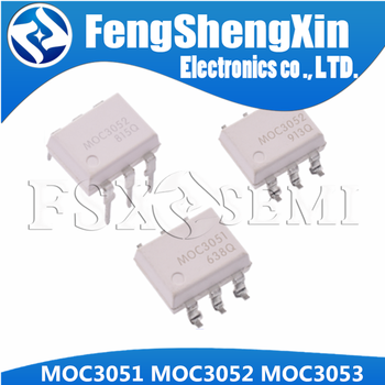 10PCS MOC3050 MOC3051 MOC3052 MOC3053 DIP6 DIP SOP6 SOP optical coupler - sale item Active Components