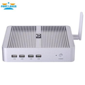 цена на Intel Core i5 8250U i5 8259U i3 8145U DDR4 Fanelss Mini pc Windows 10 pro desktop NVME SSD 12V mini pc i5 7200U DDR3L