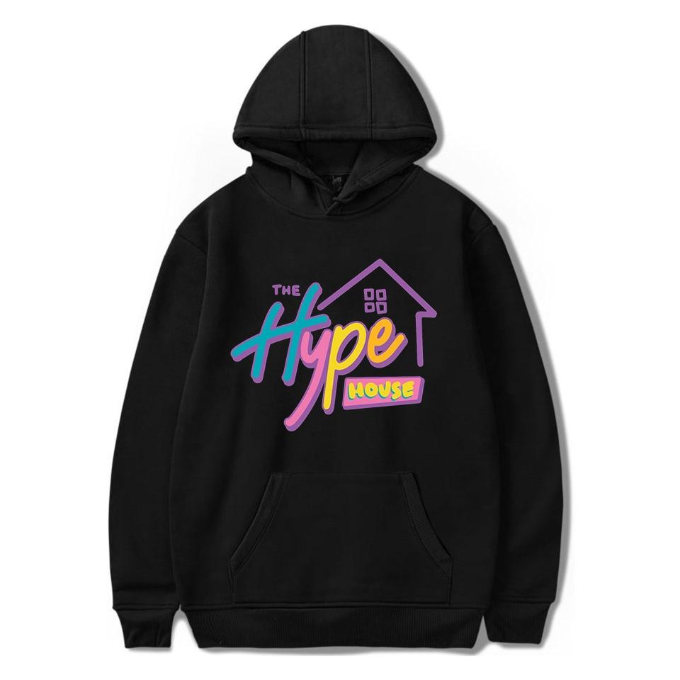 2020 The Hype House Sweatshirt Women Clothing Mens Hoodie Streetwear Harajuku Top Damskie Mujer Capucha Hip Hoody Hop Vetements