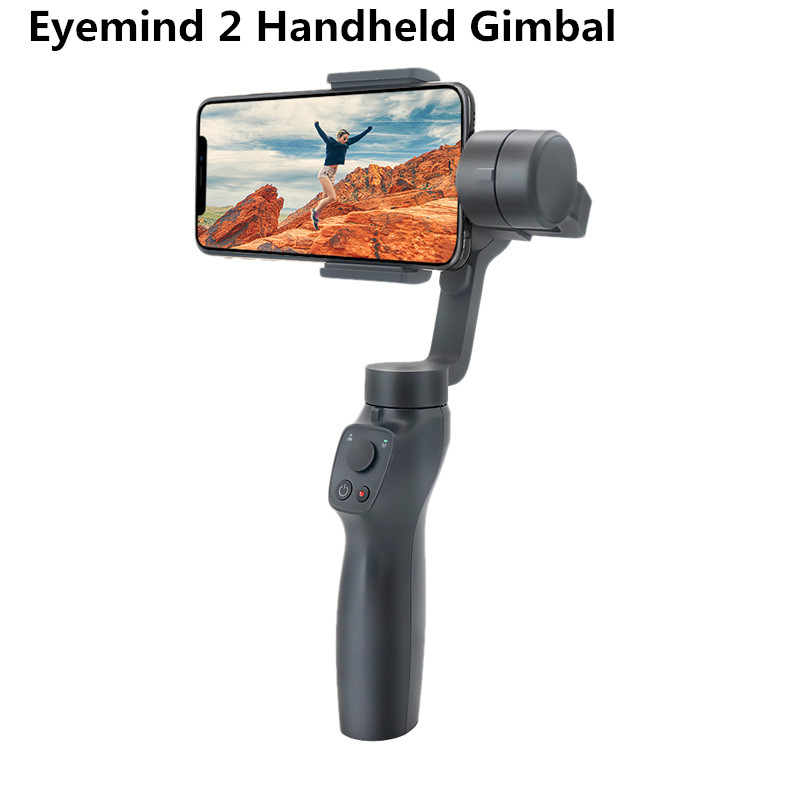 Eyemind 2 Smartphone à main cardan 3 axes stabilisateur pour iPhone Huawei Samsung GoPro Osmo Action multi-fonctions Selfie Stick
