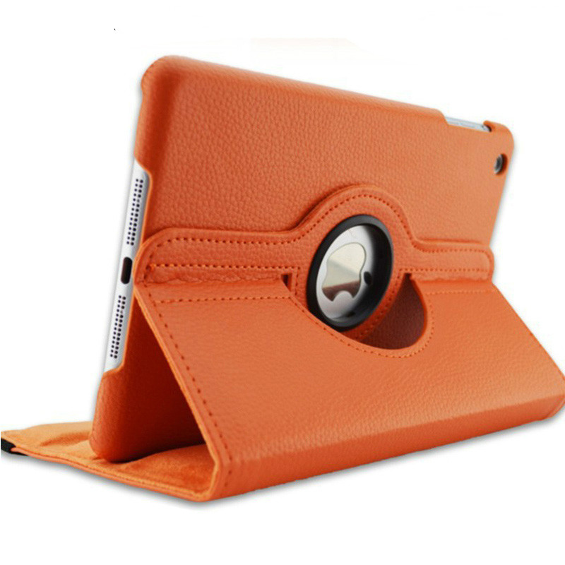 Orange Orange Case for Apple iPad pro 11 Case 2020 A2228 A2068 A2230 2nd 360 Degree Rotating Leather
