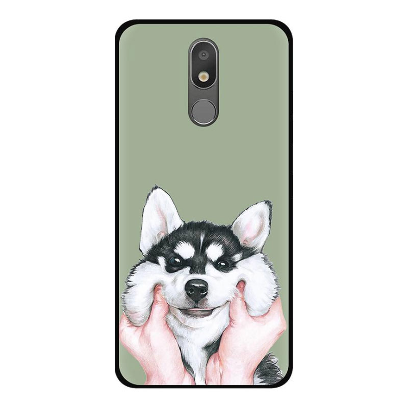 Case For LG K30 2019 Phone Case LG Aristo 4 Plus Case Silicone Cartoon Black TPU Soft Back Cover For LG K 30 X2 2019 LMX320QMG