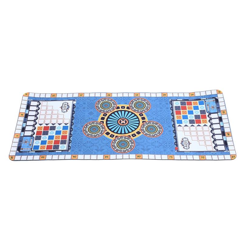 Jogar esteira para azul jogo de festa azuling jogo playmat engraçado jogo de tabuleiro
