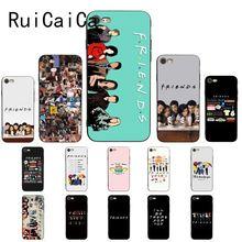 Ruicaica Friends Season TV Coque Shell Phone Case for iPhone X XS MAX  6 6s 7 7plus 8 8Plus 5 5S SE XR 11 Pro Max spanish tv series elite protective tpu phone case for iphone x xs max 11 11 pro max 6 6s 7 7plus 8 8plus se 2020 xr coque