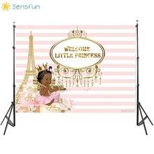 Buy Sensfun Pink Stripe Theme Princess girl Birthday Party Backdrop Vinyl Photography Background Baby Shower Backdrop Photo Studio directly from merchant!