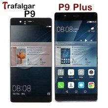 Pour Huawei P9 LCD écran tactile numériseur assemblée avec cadre pour Huawei P9 Plus écran LCD EVA L09 L19 VIE L09 L29