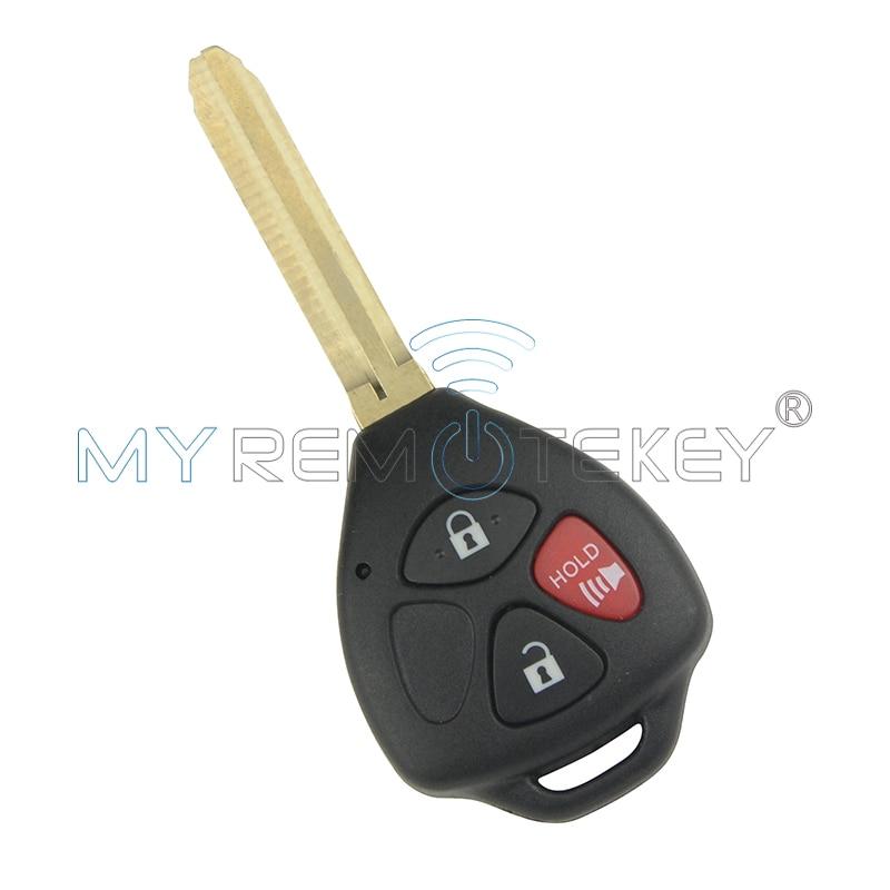 مفتاح السيارة عن بعد 3 أزرار لتويوتا - قطع غيار السيارات