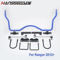 HANSSENTUNE 4x4 lifted trucks Rear Sway bar and stabilizer bar Anti-roll kits offroad 22mm Fit For Ranger 2012+