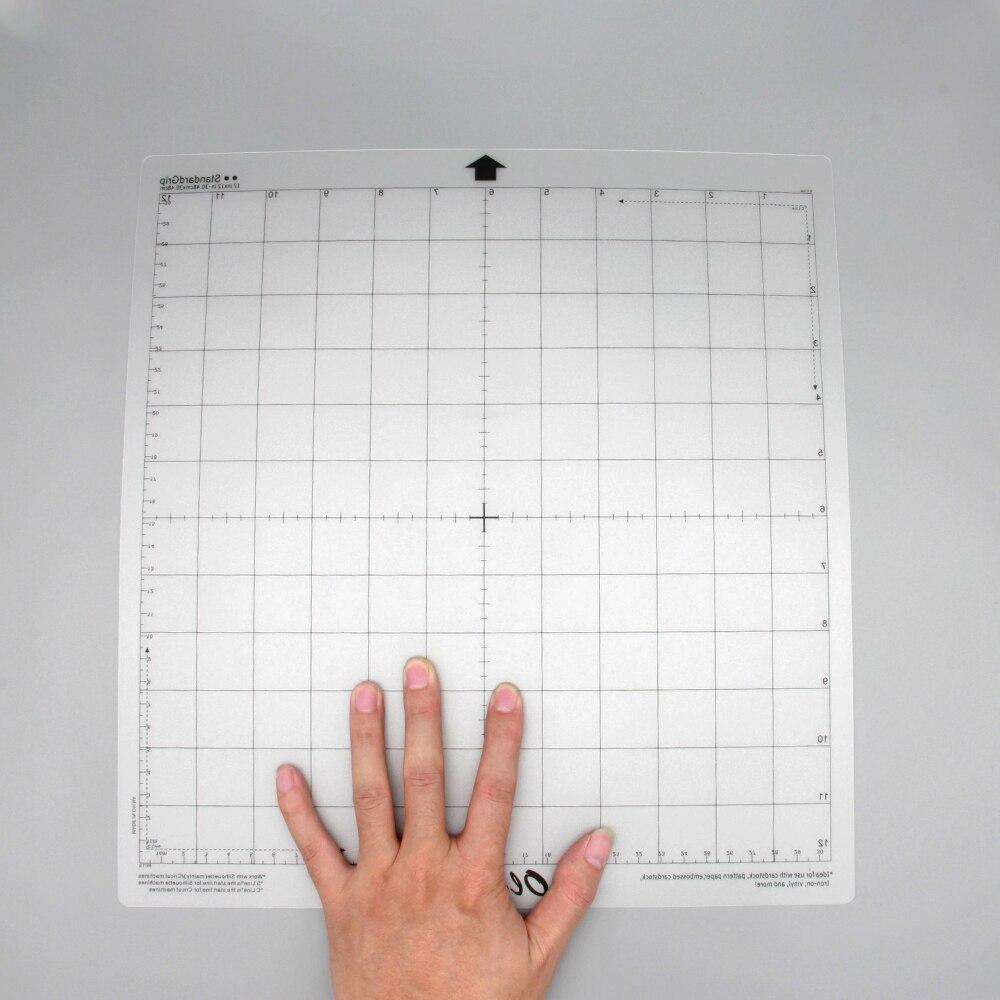 3 Pcs/5 Pcs Vervanging Snijden Mat Transparante Lijm Mat Met Meten Grid 12*12-inch Voor Silhouet Cameo Plotter Machine